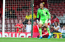 Bristol City Goalkeeper, David James - Photo mandatory by-line: Joseph Meredith / JMPUK - 30/07/2011 - SPORT - FOOTBALL - Championship - Bristol City v West Bromwich Albion - Ashton Gate Stadium, Bristol, England