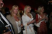 LARA PRESTON, NATASHA BRUUN AND LORI TEDESCO, Spear's Wealth Management High-Net-Worth Awards. Sotheby's. 10 July 2007.  -DO NOT ARCHIVE-© Copyright Photograph by Dafydd Jones. 248 Clapham Rd. London SW9 0PZ. Tel 0207 820 0771. www.dafjones.com.