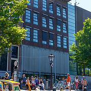 NLD/Amsterdam/20180628 - Rondvaart Amsterdam, Anna Frank Huis