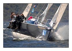 The Brewin Dolphin Scottish Series, Tarbert Loch Fyne..2377C Tigh Soluis II  CCC/Holy Loch SC J109 Ken Grant.