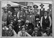 Some of Cronje's Boer officers captured at Paardeberg, 1900. 2nd Boer War 1899-1902.