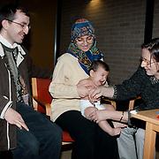 Henny van As neemt afscheid als wijkverpleegkundige op het consultatieburo Holleblok