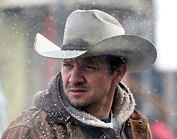 Jeremy Renner stars in WIND RIVER<br /> Fred Hayes/The Weinstein Company
