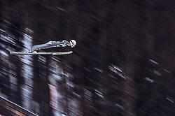 01.02.2019, Heini Klopfer Skiflugschanze, Oberstdorf, GER, FIS Weltcup Skiflug, Oberstdorf, im Bild Daniel Huber (AUT) // Daniel Huber of Austria during the FIS Ski Jumping World Cup at the Heini Klopfer Skiflugschanze in Oberstdorf, Germany on 2019/02/01. EXPA Pictures © 2019, PhotoCredit: EXPA/ JFK