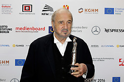 December 10, 2016 - Wroclaw, Lower Silesian, Deutschland - Jean-Claude Carriere attends the 29th European Film Awards 2016 at the National Forum of Music on December 10,2016 in Wroclaw, Poland. (Credit Image: © Future-Image via ZUMA Press)