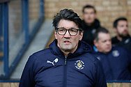 Luton Town Interim Manager Mick Harford, during the EFL Sky Bet League 1 match between Southend United and Luton Town at Roots Hall, Southend, England on 26 January 2019.