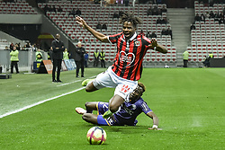 March 15, 2019 - Nice, France - Adrien Tameze (OGC Nice) - Kelvin Adou Amian  (Credit Image: © Panoramic via ZUMA Press)