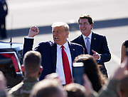 Nashville,TN President Donald J Trump greets 175 Airmen of the Tennessee Air National Guard 118th Wing at Berry Field in Nashville, TN on October, 22 2020