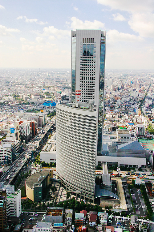 Aerial View of Tokyo Opera Tower