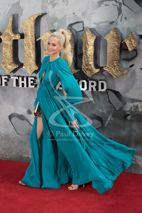 London, May 10th 2017. Poppy Delevingne attends the European premiere of King Arthur - Legend of the Sword at the Cineworld Empire in Leicester Square.
