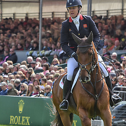 Kristina Cook Badminton Horse Trials Gloucester England UK May 2019. Kristina Cook equestrian eventing representing Great Britain riding Billy The Red at the Badminton horse trials 2019 Badminton Horse trials 2019 Winner Piggy French wins the title