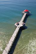 Aerial Stock Photo Of Huntington Beach Pier