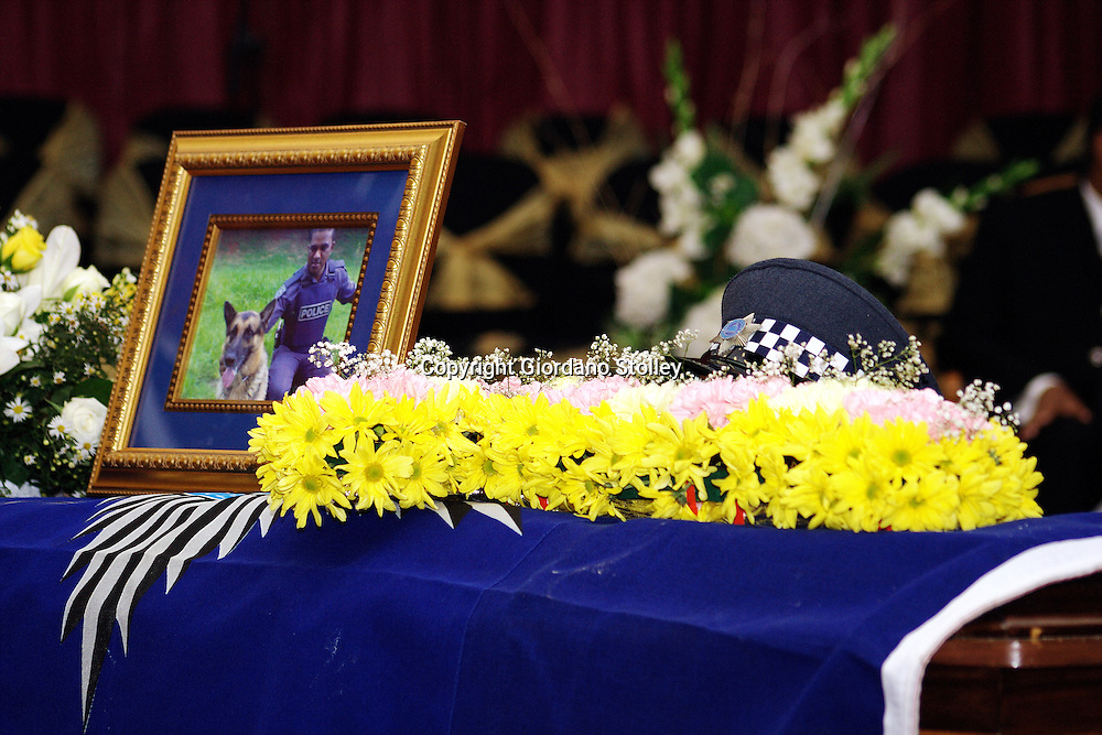 DURBAN - 25 February 2006 - Sgt Selvan Reddy, the brother of ANC Councillor Visvin Reddy, was shot in what was believed to be a hit on the Durban City policeman..Picture: Giordano Stolley