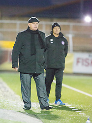 Arbroath's manager Dick Campbell. Forfar Athletic 0 v 1 Arbroath, Scottish Football League Division Two game played 10/12/2016 at Station Park.