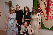 FLORA MCEWEN; ADAM MCEWEN; SAM MCEWEN; CHRISTABEL MCEWEN; BELOW: ROMANA MCEWEN, Exhibition opening.- Rory McEwen - The Colours of Reality,   Shirley Sherwood Gallery of Botanical Art, Kew Gardens, TW9 2AH , London.  May 20, 2013