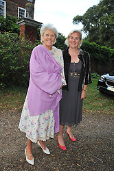 Left to right, PRINCESS RUPERT LOWENSTEIN and her daughter COUNTESS MANFREDIE DELLA GHERARDESCA at a Summer party hosted by Lady Annabel Goldsmith at her home Ormeley Lodge, Ham, Surrey on 14th July 2009.
