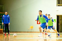 at practice of Slovenia hanball national team prior to 2021 World Men's Handball Championship, on January 04, 2021 in Dvorana Tri Lilije, Lasko, Slovenia. Photo by Matic Klansek Velej / Sportida