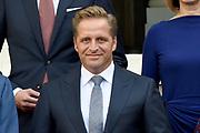 Het nieuwe kabinet Rutte III op het bordes van Paleis Noordeinde. <br /> <br /> Op de foto:  vicepremier Hugo de Jonge - Minister van Volksgezondheid, Welzijn en Sport