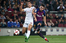December 5, 2018 - Barcelona, Spain - Munir during the match between FC Barcelona and Cultural Leonesa, corresponding to the 1/16 final of the spanish King Cuo, played at the Camp Nou Stadium on 05th December 2018 in Barcelona, Spain. Photo: Joan Valls/Urbanandsport /NurPhoto. (Credit Image: © Joan Valls/NurPhoto via ZUMA Press)