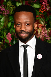 Clifford Samuel attending the Evening Standard Theatre Awards 2018 at the Theatre Royal, Drury Lane in Covent Garden, London