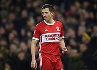 Middlesbrough's Stewart Downing <br /> <br /> Photographer Jon Hobley/CameraSport<br /> <br /> The EFL Sky Bet Championship - Norwich City v Middlesbrough - Saturday 3rd February 2018 - Carrow Road - Norwich<br /> <br /> World Copyright © 2018 CameraSport. All rights reserved. 43 Linden Ave. Countesthorpe. Leicester. England. LE8 5PG - Tel: +44 (0) 116 277 4147 - admin@camerasport.com - www.camerasport.comMiddlesbrough's Stewart Downing <br /> <br /> Photographer Jon Hobley/CameraSport<br /> <br /> The EFL Sky Bet Championship - Norwich City v Middlesbrough - Saturday 3rd February 2018 - Carrow Road - Norwich<br /> <br /> World Copyright © 2018 CameraSport. All rights reserved. 43 Linden Ave. Countesthorpe. Leicester. England. LE8 5PG - Tel: +44 (0) 116 277 4147 - admin@camerasport.com - www.camerasport.com