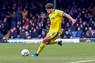 AFC Wimbledon defender Will Nightingale (5) passing the ball during the EFL Sky Bet League 1 match between Southend United and AFC Wimbledon at Roots Hall, Southend, England on 16 March 2019.