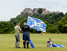 Scottish Independence march,  Bannockburn, 23 June 2018