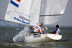 08_002675 © Sander van der Borch. Medemblik - The Netherlands,  May 24th 2008 . Day 4 of the Delta Lloyd Regatta 2008.