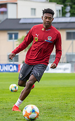 02.06.2018, Woerthersee Stadion, Klagenfurt, AUT, ÖFB Nationalteam, Training, im Bild David Alaba (AUT) // David Alaba of Austria during a Trainingssession of Austrian National Footballteam at the Woerthersee Stadion in Klagenfurt, Austria on 2018/06/02. EXPA Pictures © 2019, PhotoCredit: EXPA/ Johann Groder