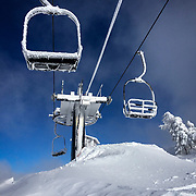 Scenes from Mammoth Mountain after a series of massive winter storms dropped up to 20 feet of snow.