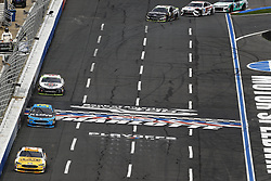 September 30, 2018 - Concord, North Carolina, United States of America - Trevor Bayne (6) races during the Bank of America ROVAL 400 at Charlotte Motor Speedway in Concord, North Carolina. (Credit Image: © Chris Owens Asp Inc/ASP via ZUMA Wire)