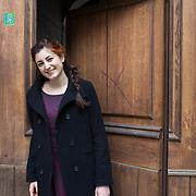 Piccolo Teatro Grassi, Milano, Italia, 9 Aprile 2021. Giulia Angeloni, 34 anni, attrice.