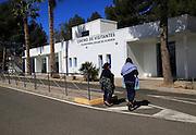 Visitor Centre building Solar energy research establishment near Tabernas, Almeria, Spain