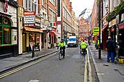 Londyn, 2009-03-05. Londyńska dzielnica Soho.