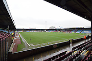 Scunthorpe Uniteds ground before the Sky Bet League 1 match between Scunthorpe United and Wigan Athletic at Glanford Park, Scunthorpe, England on 2 January 2016. Photo by Ian Lyall.