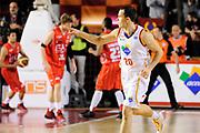 DESCRIZIONE : Roma Lega A 2013-14 Acea Virtus Roma - EA7 Emporio Milano<br /> GIOCATORE : Jimmy Baron<br /> CATEGORIA : esultanza mani <br /> SQUADRA : Acea Virtus Roma<br /> EVENTO : Campionato Lega A 2013-2014 <br /> GARA : Acea Virtus Roma - EA7 Emporio Milano<br /> DATA : 02/12/2013<br /> SPORT : Pallacanestro <br /> AUTORE : Agenzia Ciamillo-Castoria/N. Dalla Mura<br /> Galleria : Lega Basket A 2013-2014  <br /> Fotonotizia : Roma Lega A 2013-14 Acea Virtus Roma - EA7 Emporio Milano