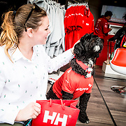 © Maria Muina I MAPFRE. HH store at the MAPFRE team base in Newport Race Village.