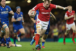 February 1, 2020, Cardiff (Wales, Italy: nick tompkins (galles) durante una carica against l'italia during Wales vs Italy, Six Nations Rugby in Cardiff (Wales), Italy, February 01 2020 (Credit Image: © Massimiliano Carnabuci/IPA via ZUMA Press)