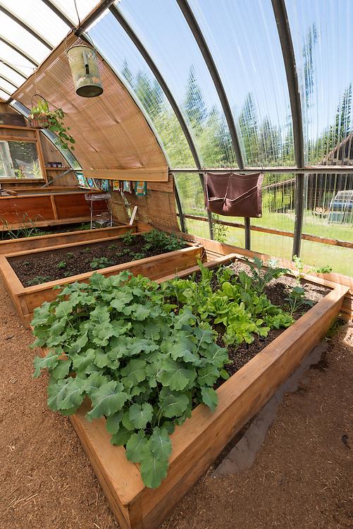 Greenhouse in Oregon's Wallowa Valley.