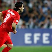 Turkey's Selcuk inan during their FIFA World Cup 2014 qualifying soccer match Turkey betwen Estonia at Sukru Saracoglu stadium in Istanbul September 11, 2012. Photo by TURKPIX