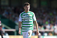 Joseph Edwards of Yeovil Town  during the Skybet championship match, Yeovil Town v Reading at Huish Park in Yeovil on Saturday 31st August 2013. <br /> Picture by Sophie Elbourn, Andrew Orchard sports photography,