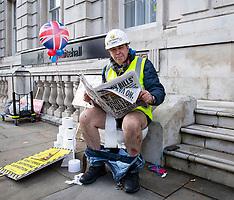Steve Bray Toilet Protest 26th October 2021