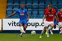 Nyal Bell. Stockport County FC 1-0 Salford City FC. Pre Season Friendly. 25.8.20