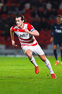 John Marquis of Doncaster Rovers (9) rushes forward during the EFL Sky Bet League 1 match between Doncaster Rovers and Southend United at the Keepmoat Stadium, Doncaster, England on 12 February 2019.