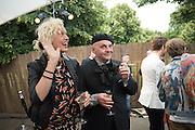 ELLEN VON UNWORTH: SASHA LILIC, 2016 SERPENTINE SUMMER FUNDRAISER PARTY CO-HOSTED BY TOMMY HILFIGER. Serpentine Pavilion, Designed by Bjarke Ingels (BIG), Kensington Gardens. London. 6 July 2016