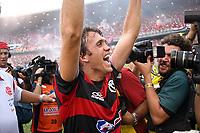 20091206: RIO DE JANEIRO, BRAZIL - Flamengo vs Gremio: Brazilian League 2009 - Flamengo won 2-1 and celebrated the 6th Brazilian Championship of its history. In picture: Petkovic (Flamengo) celebrating victory. PHOTO: CITYFILES