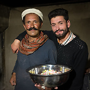 Father and son. Two Wakhi men in Chipursan valley.