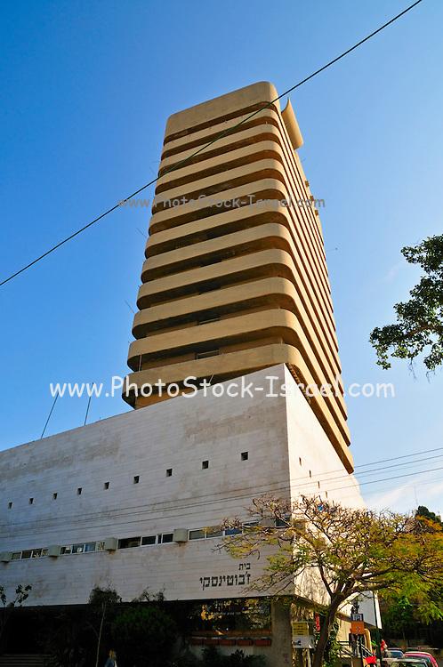 Israel, Tel Aviv, Metzudat Zeev (Zeev's stronghold) building named after Zeev Jabotinsky now houses the offices of the Likud political party and the Jabotinsky museum. 38 King George street, January 2007