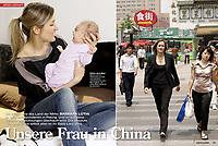 Swiss TV journalist Barbara Luthi, Beijing.