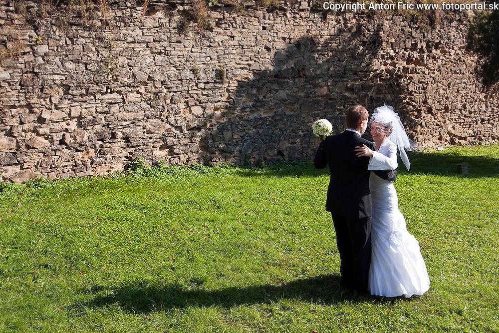 Svadobne fotografie Mariany a Frantiska urobene pocas ich svadobneho dna v Presove.